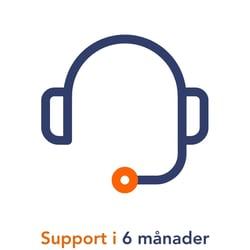 6 mån support